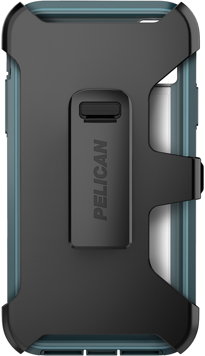 pelican apple iphone c42030 voyager teal phone case holster