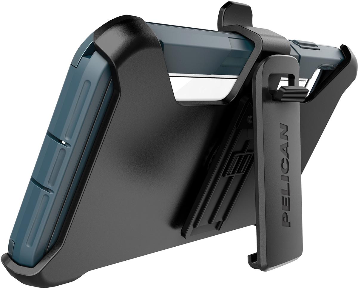 pelican apple iphone c42030 voyager teal phone case kickstand