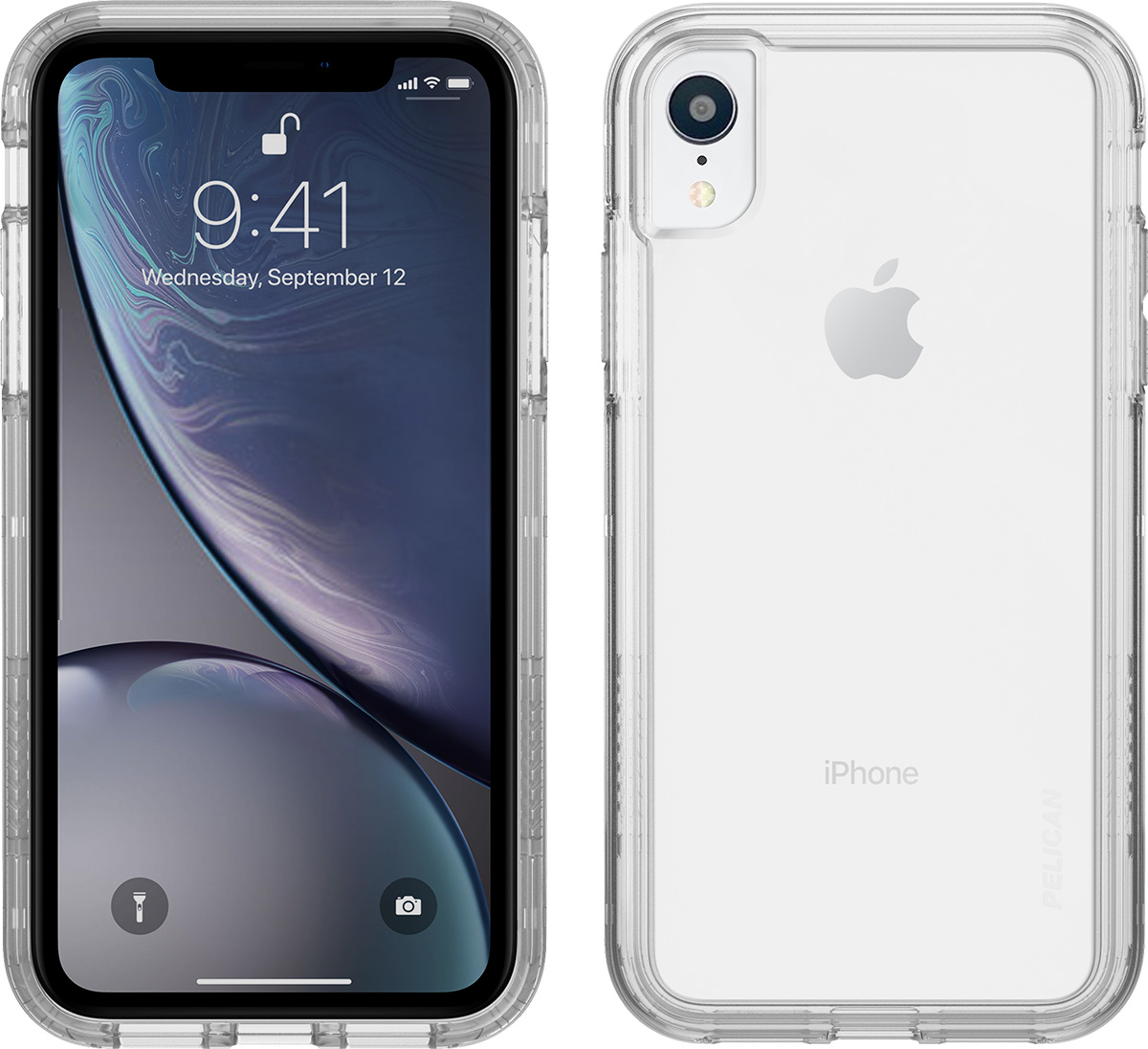 pelican apple iphone c42100 clear hard phone case