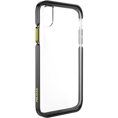 pelican apple iphone c42130 ambassador black gold clear phone case