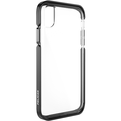 pelican apple iphone c42130 ambassador silver clear phone case