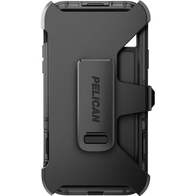 pelican apple iphone c42140 shield black phone case clip holster