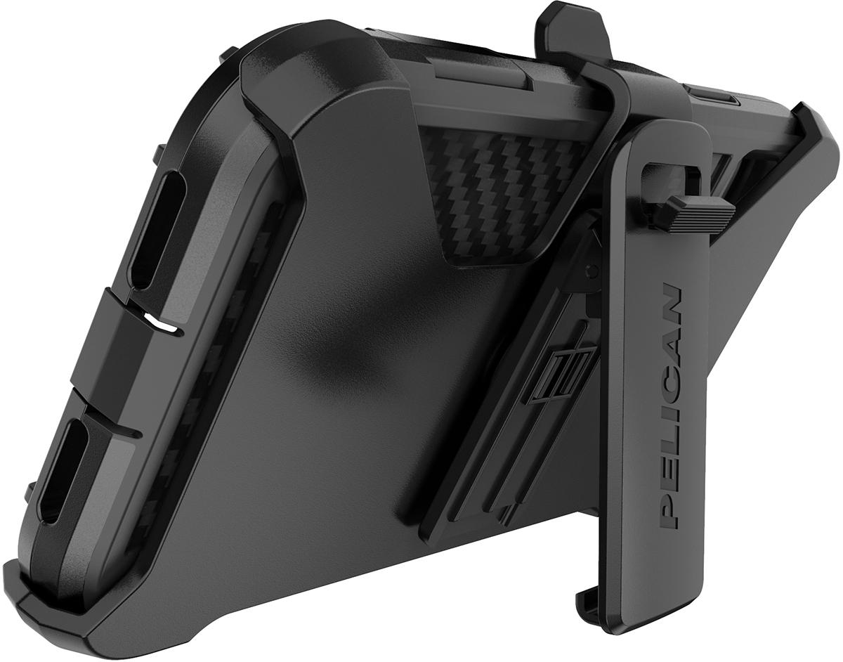 pelican apple iphone c42140 shield black phone case kickstand