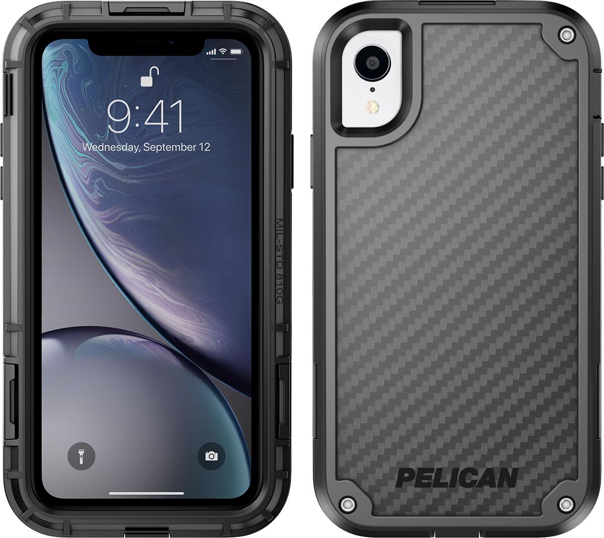 pelican apple iphone c42140 shield black phone case