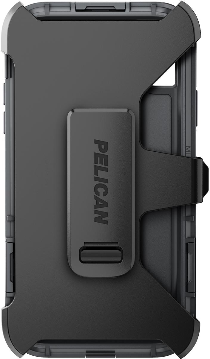 pelican apple iphone c42140 shield grey phone case holster