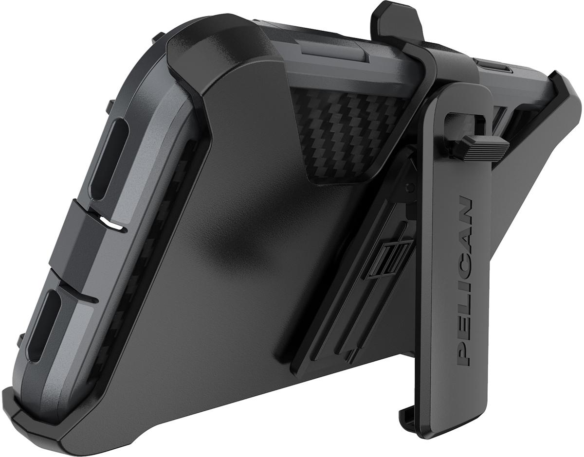 pelican apple iphone c42140 shield grey phone case kickstand