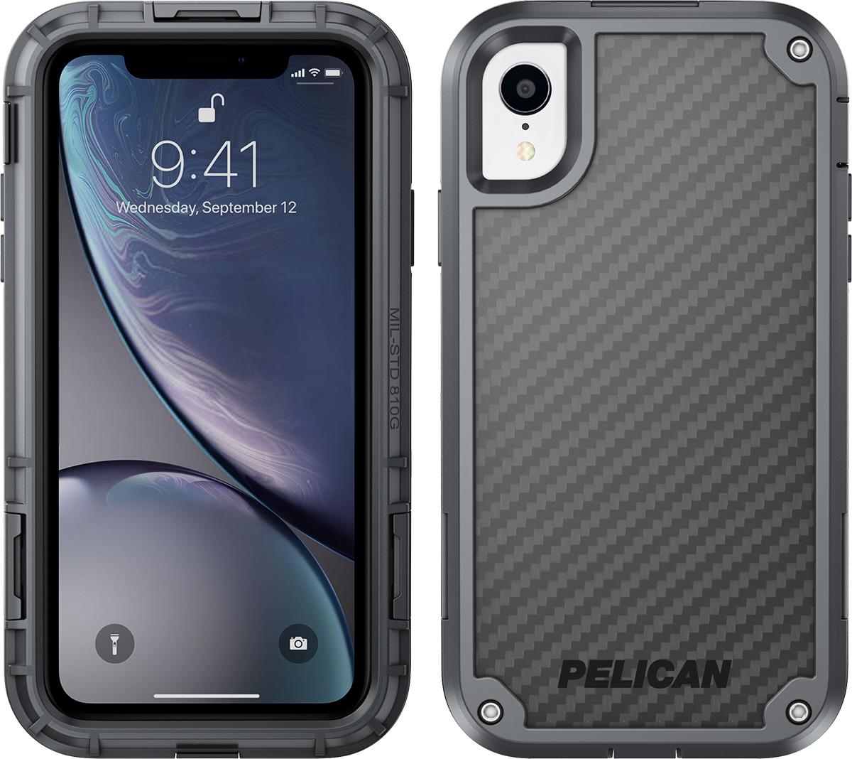 pelican apple iphone c42140 shield grey phone case