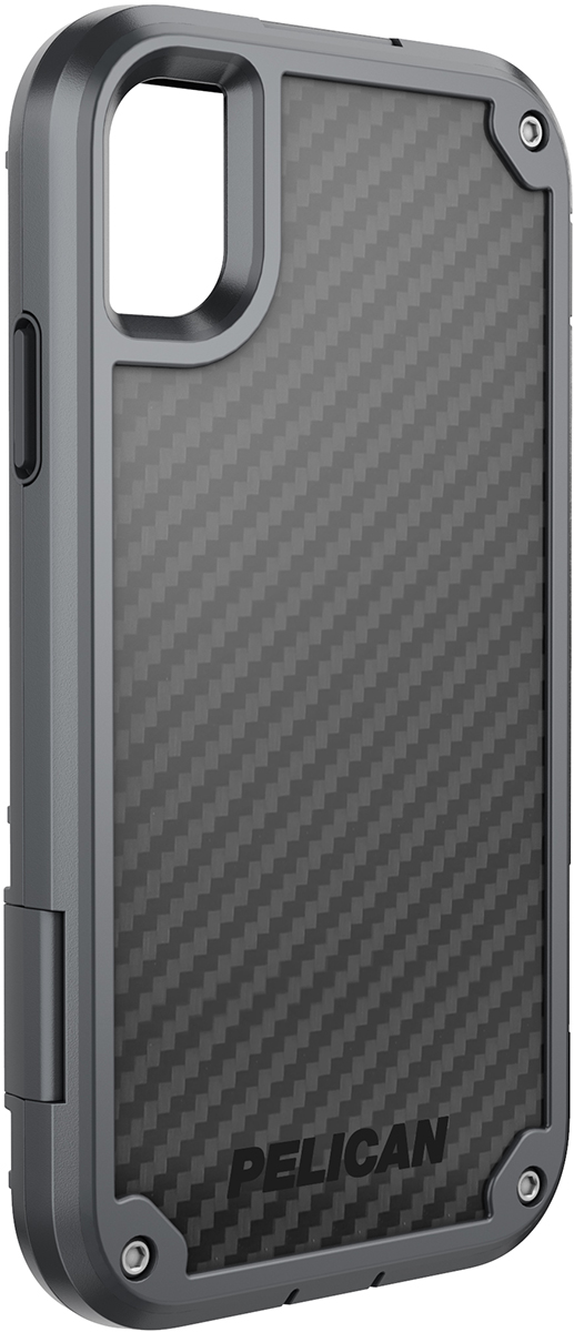 pelican apple iphone c42140 shield grey rugged phone case