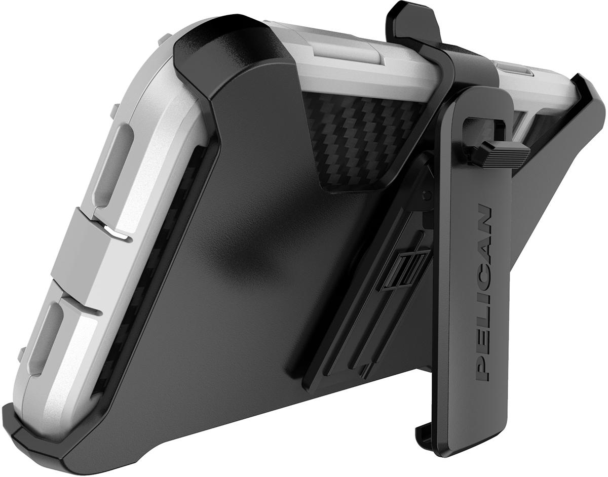 pelican apple iphone c42140 shield white phone case kickstand