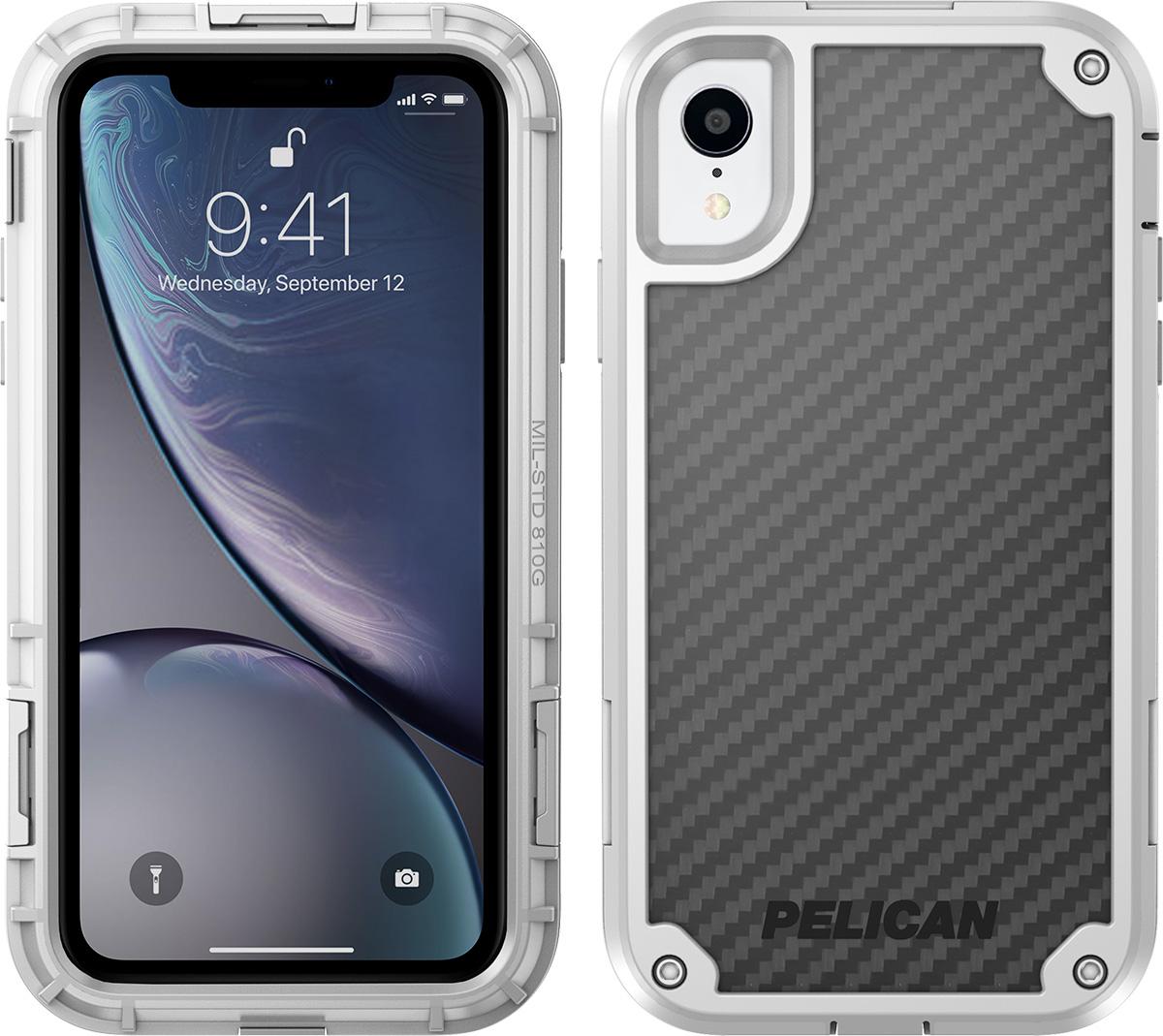 pelican apple iphone c42140 shield white phone case