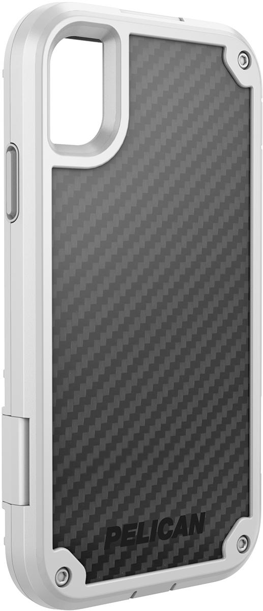 pelican apple iphone c42140 shield white rugged phone case