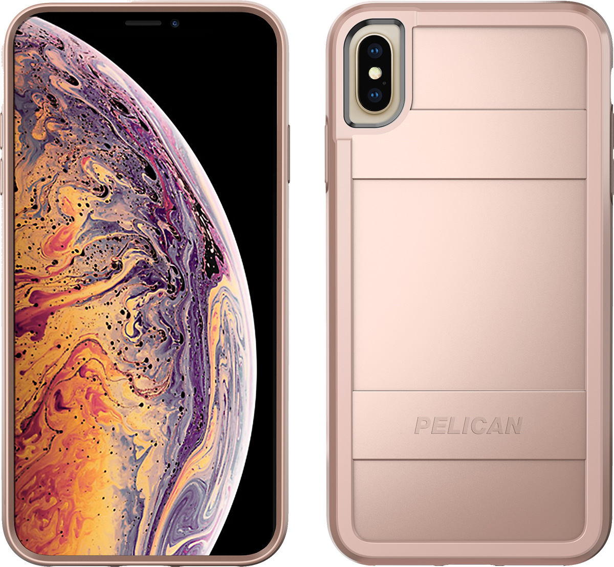 pelican apple iphone c43000 protector rose gold phone case
