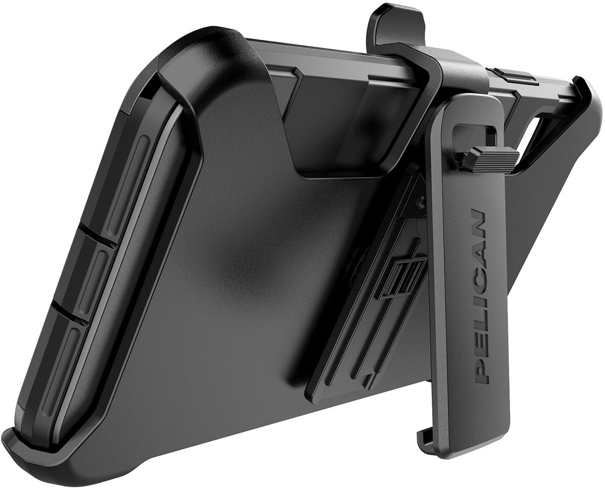 pelican apple iphone c43030 voyager black mobile phone case kickstand
