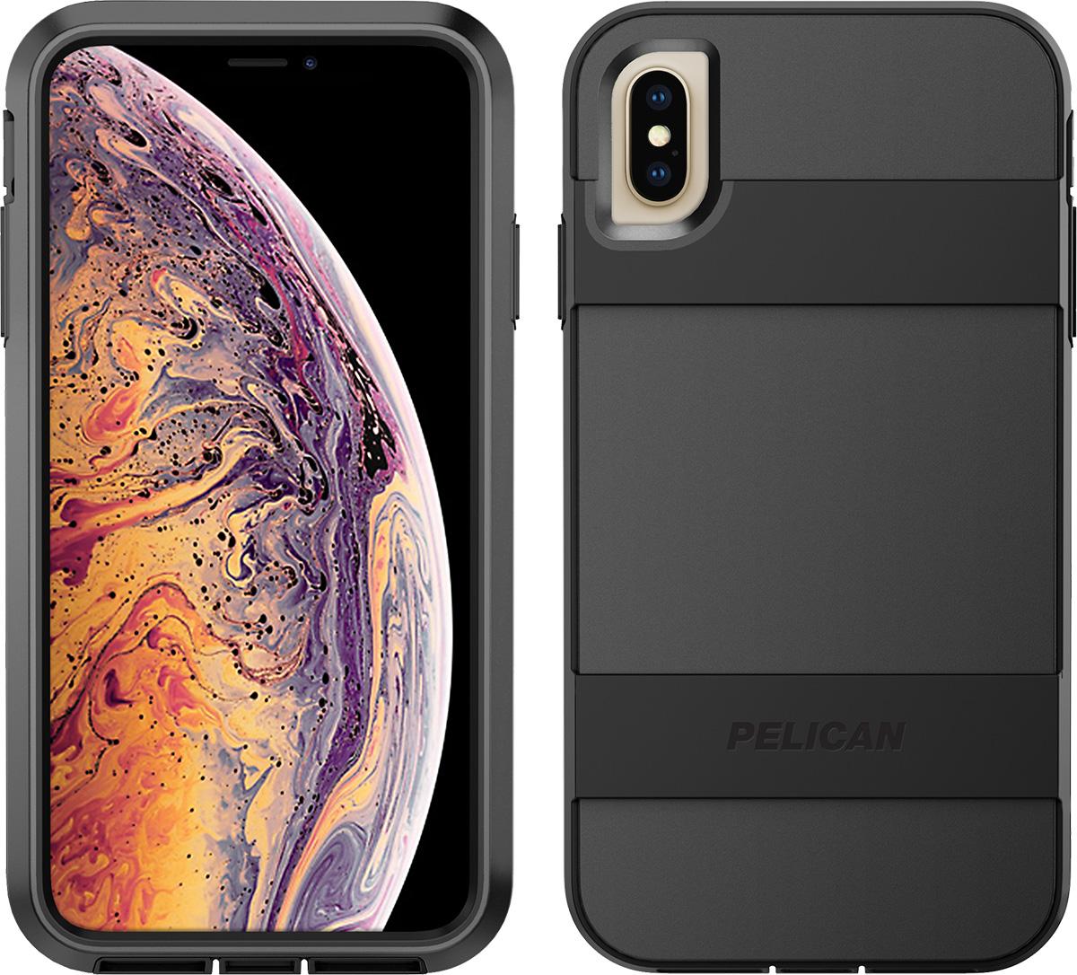 pelican apple iphone c43030 voyager black phone case