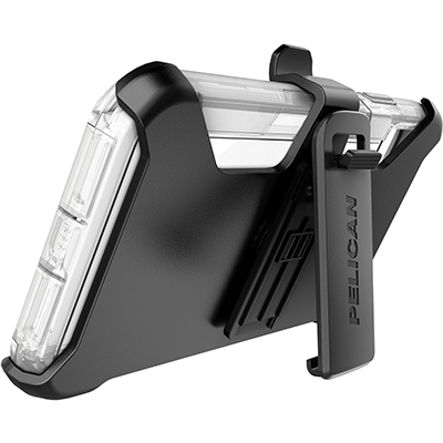 pelican apple iphone c43030 voyager clear phone case kickstand