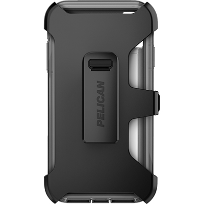 pelican apple iphone c43030 voyager grey phone case holster