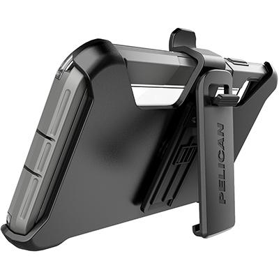 pelican apple iphone c43030 voyager grey phone case kickstand