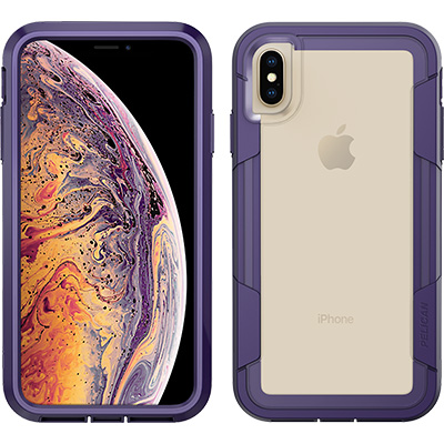 pelican apple iphone c43030 voyager purple clear phone case