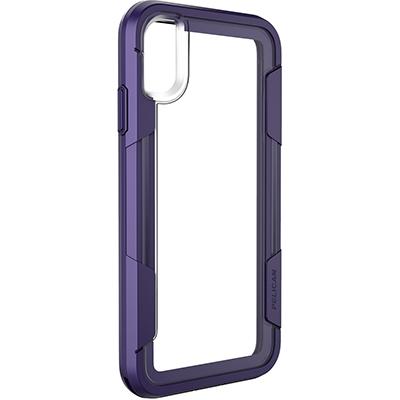 pelican apple iphone c43030 voyager purple clear slim phone case