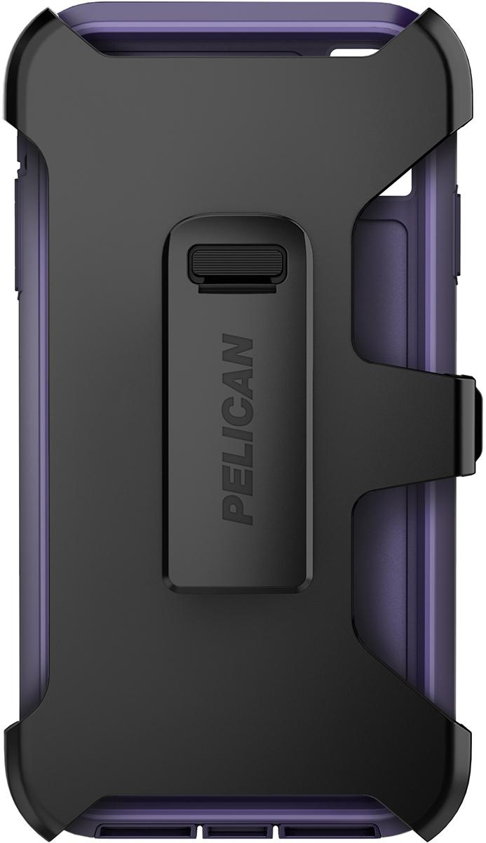 pelican apple iphone c43030 voyager purple phone case holster