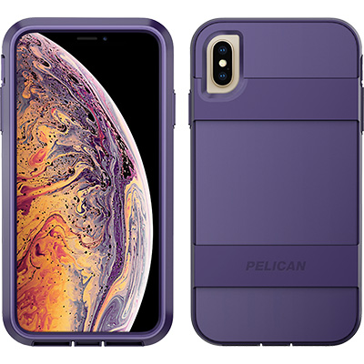 pelican apple iphone c43030 voyager purple phone case