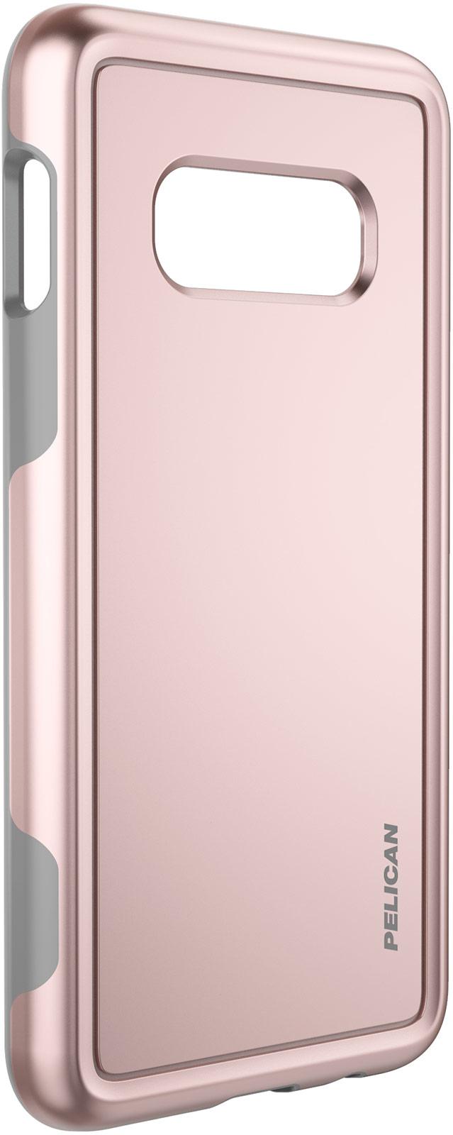 pelican samsung galaxy s10e rose gold phone case