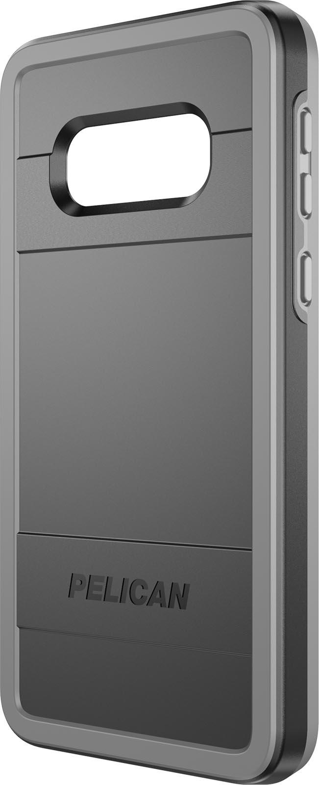 pelican samsung galaxy s10e black gray phone case