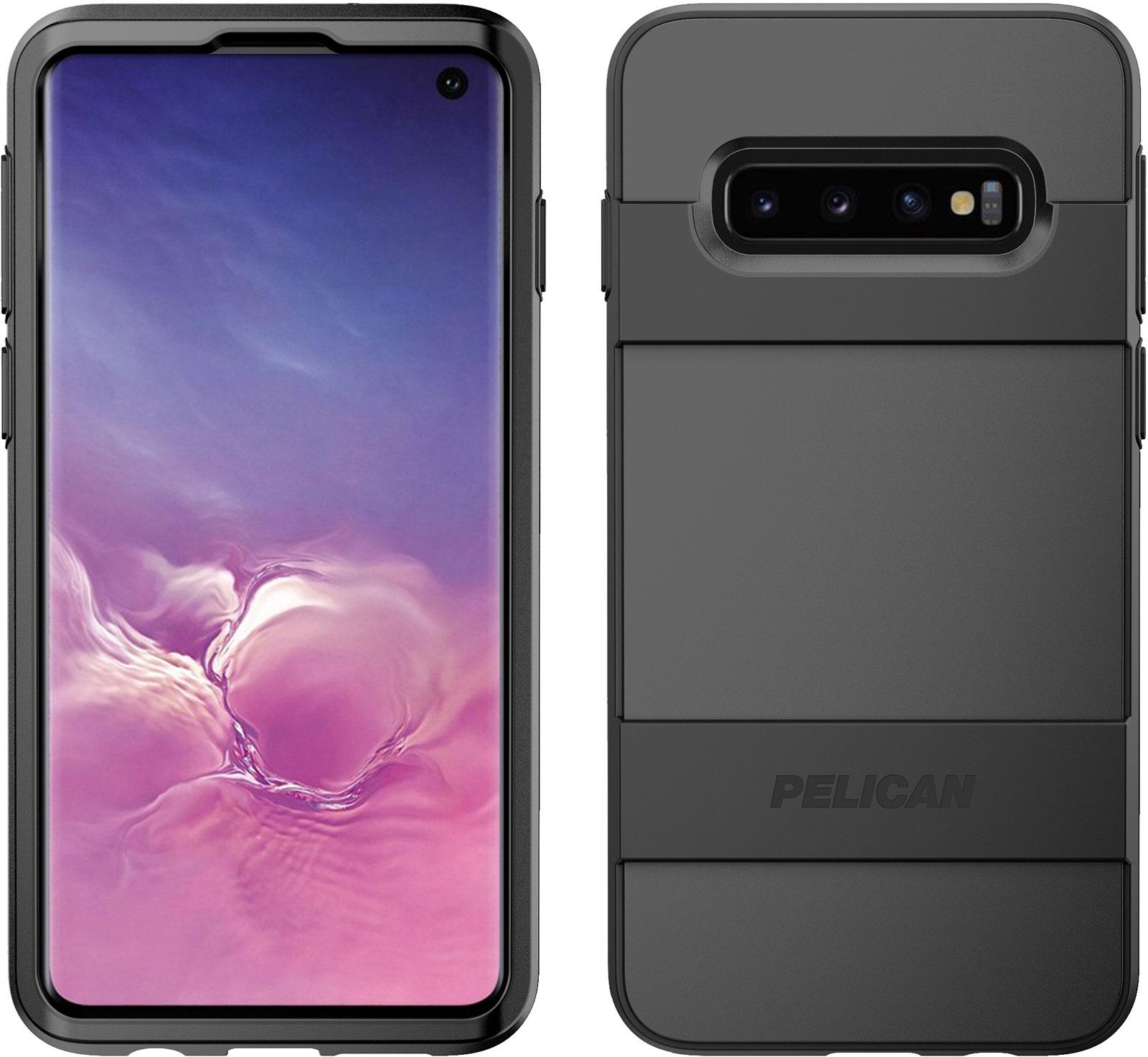 pelican samsung galaxy s10 black voyager phone case