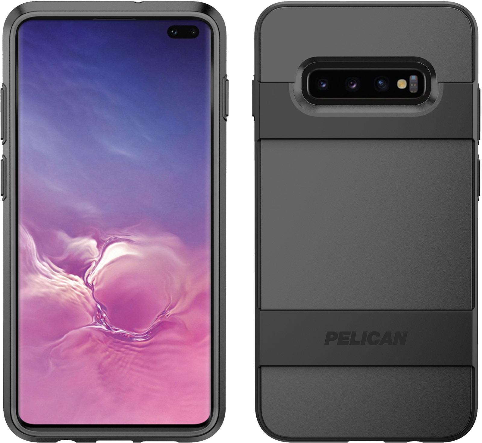 pelican samsung galaxy s10 plus black voyager phone case