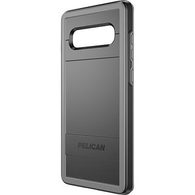 pelican samsung galaxy s10 plus black gray phone case