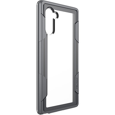 pelican voyager samsung note 10 clear gray case