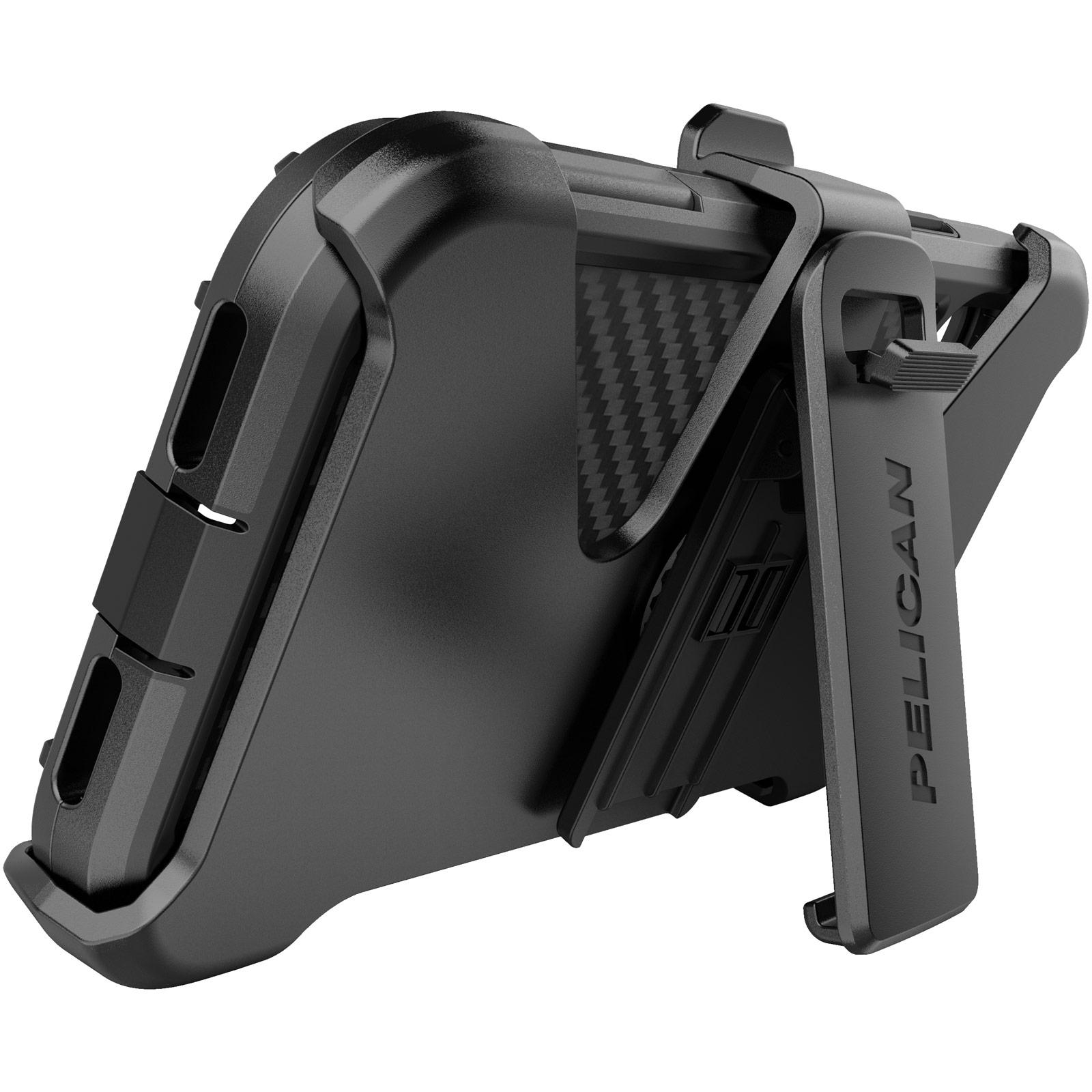 pelican c55140 black shield iphone kickstand case