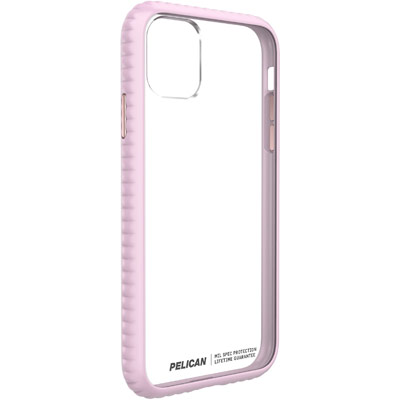 pelican c55160 guardian apple iphone clear pink case