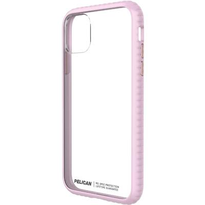 pelican c55160 guardian iphone clear pink bumper case