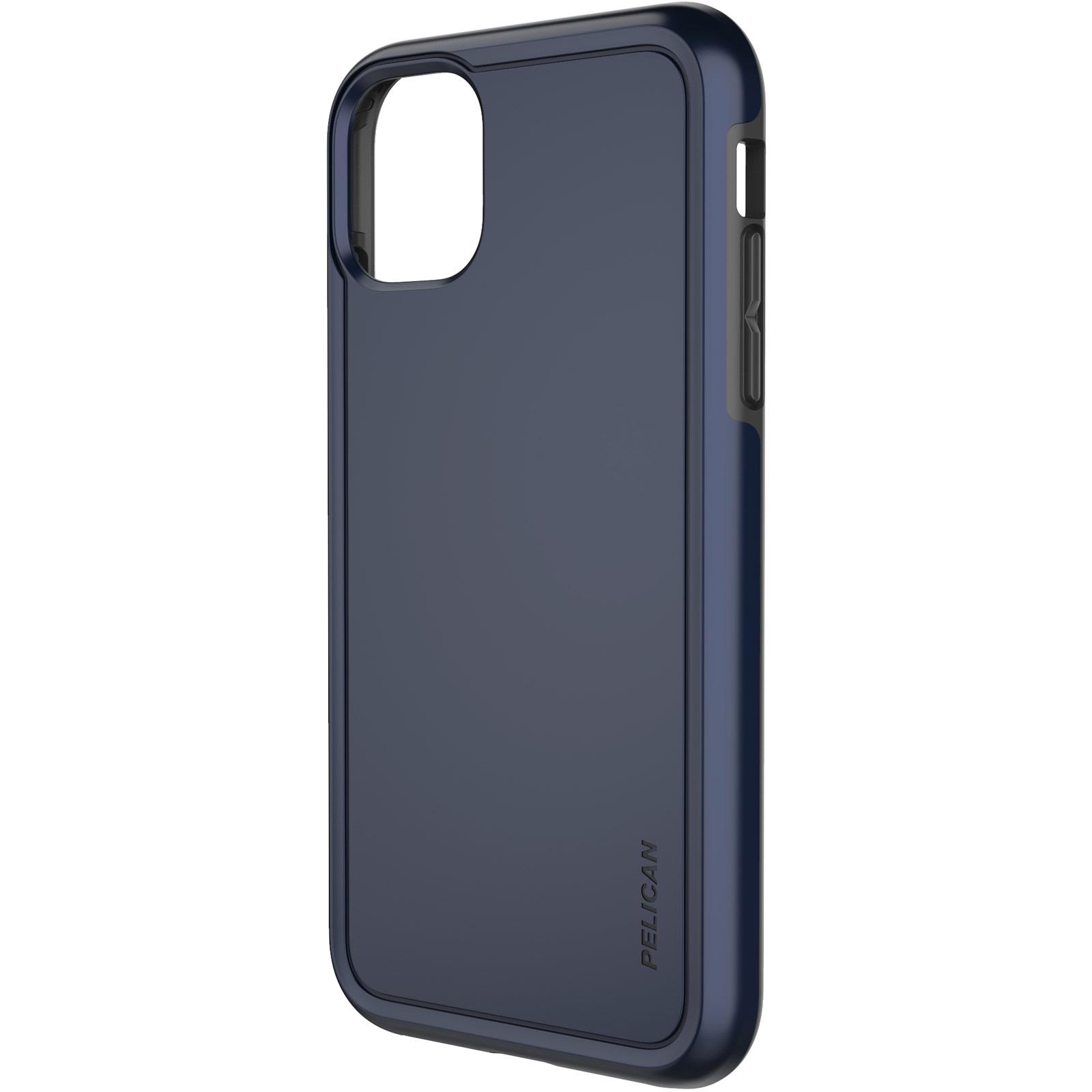 pelican c56100 navy blue non slip iphone case