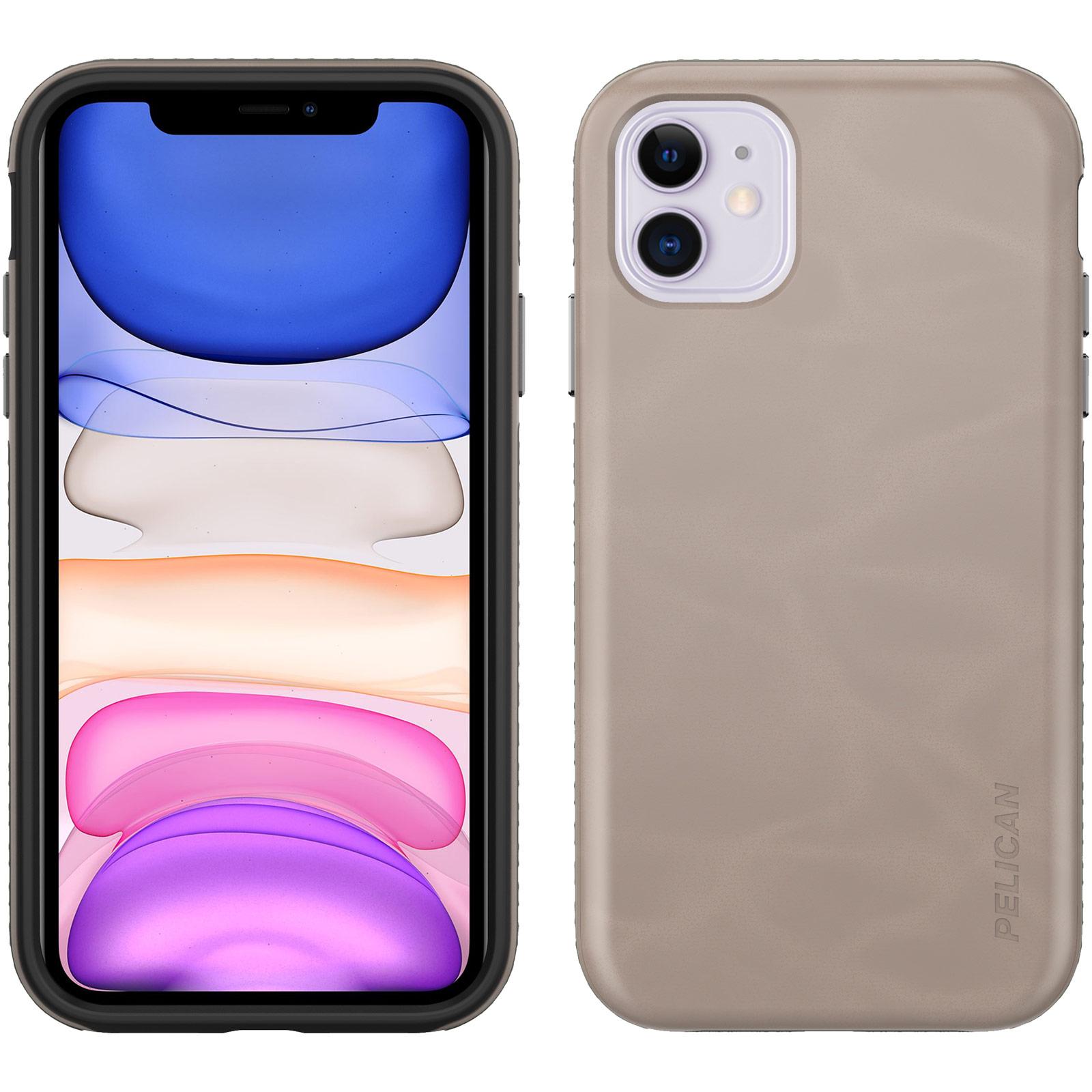 pelican c56190 taupe iphone traveler case