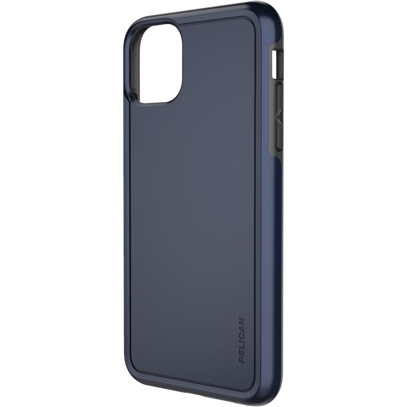pelican c57100 navy blue non slip iphone case