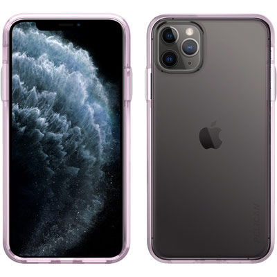 pelican iphone mogul purple clear case