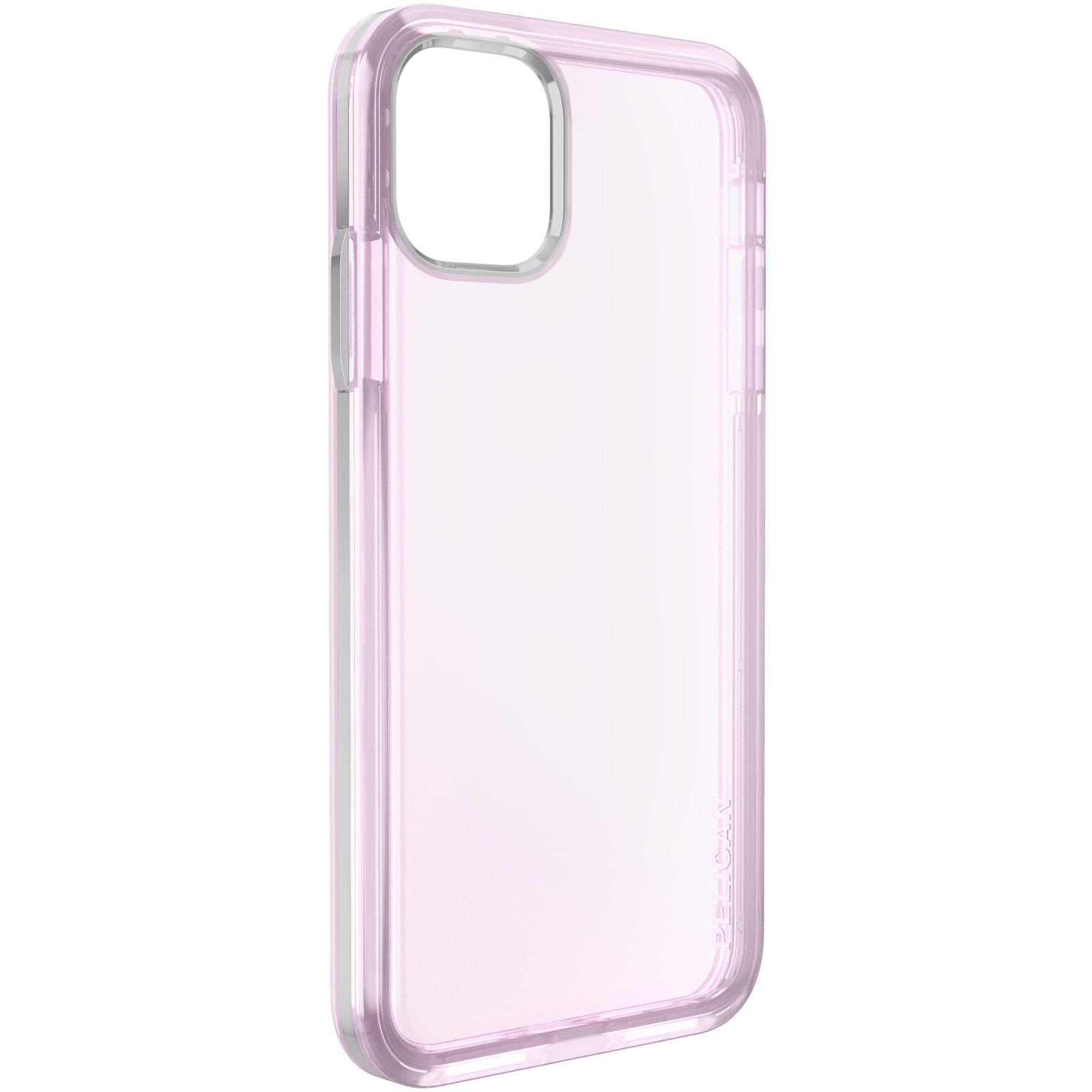 pelican iphone mogul purple clear protective case