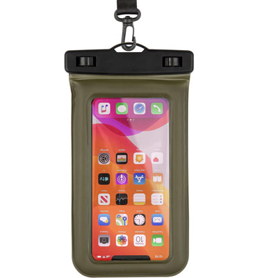 pelican pp043304 ip68 marine floating phone pouch