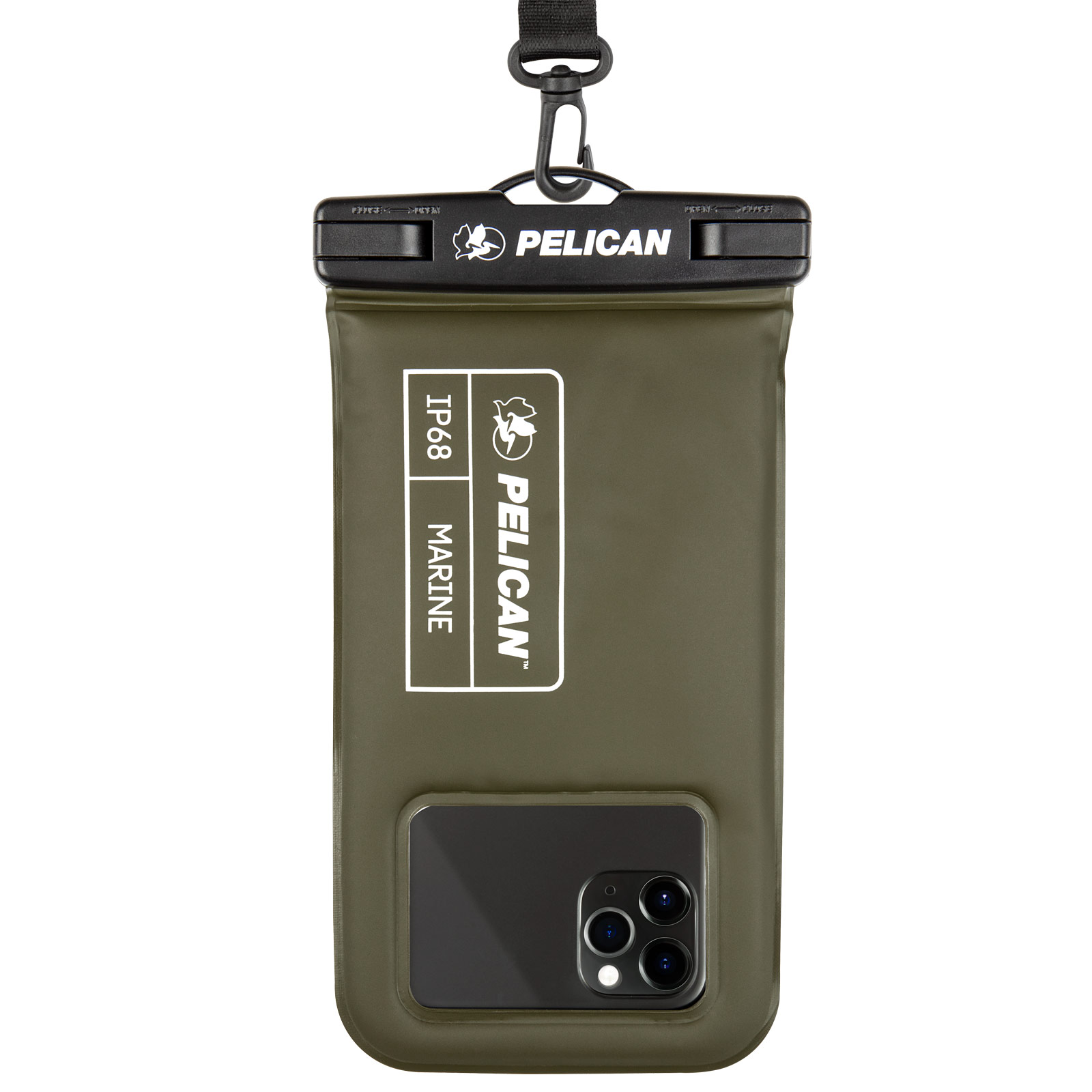 pelican pp043304 ip68 marine waterproof phone pouch