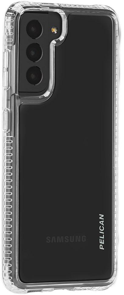pelican pp045166 samsung galaxy s21 ranger slim phone case clear