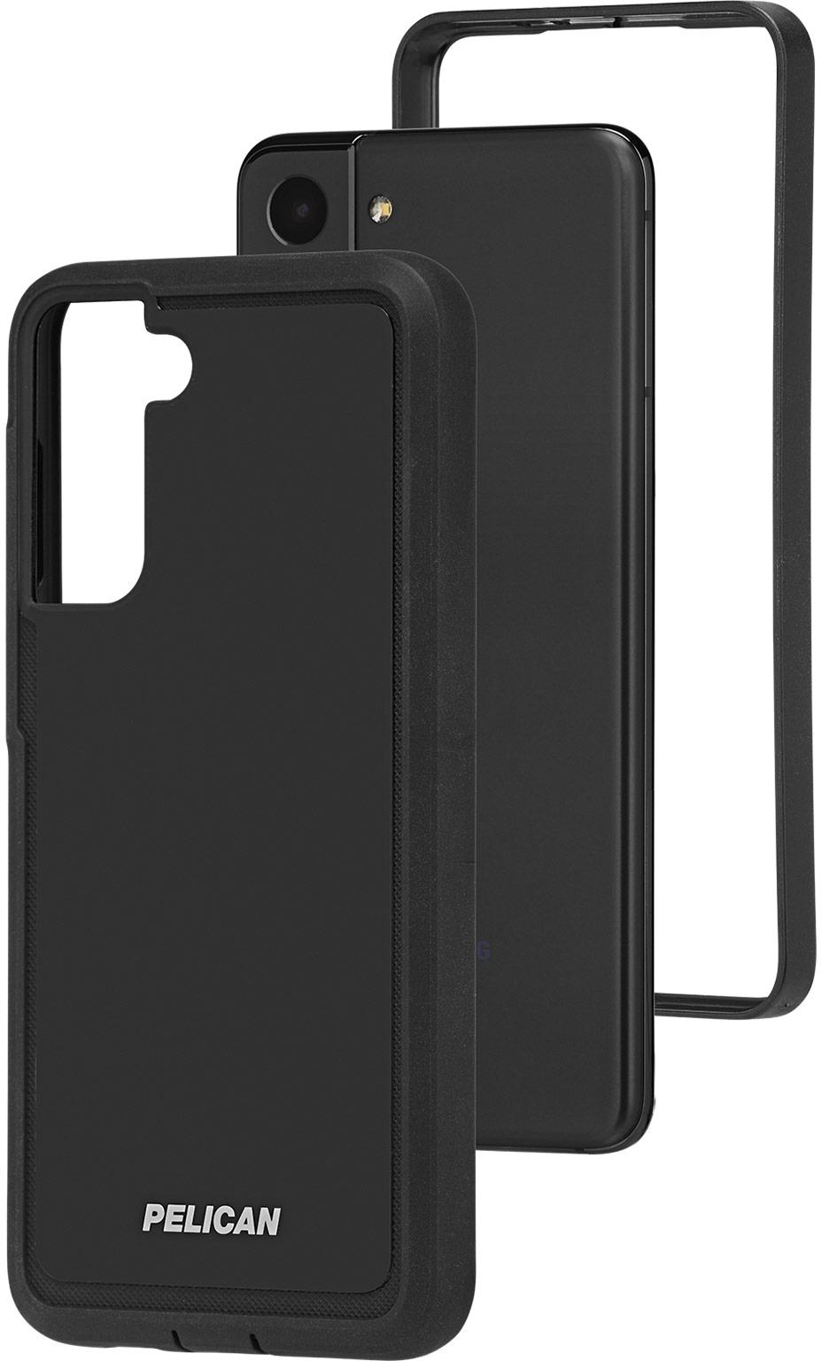pelican pp045170 samsung galaxy s21 5g voyager phone case black