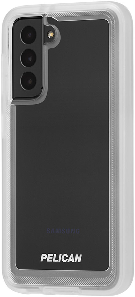 pelican pp045170 samsung galaxy s21 voyager rugged phone case clear