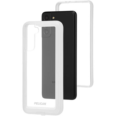 pelican pp045190 samsung galaxy s21 plus 5g voyager phone case clear