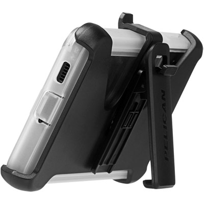 pelican pp045190 samsung galaxy s21 plus voyager holster phone case clear