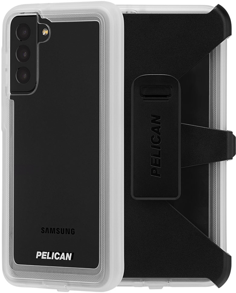 pelican pp045190 samsung galaxy s21 plus voyager phone case clear