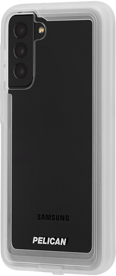 pelican pp045190 samsung galaxy s21 plus voyager rugged phone case clear