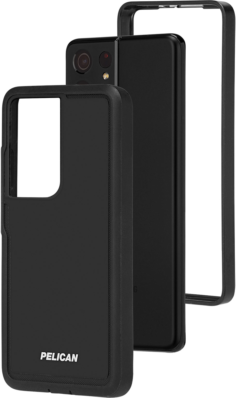 pelican pp045214 samsung galaxy s21 ultra 5g voyager phone case black