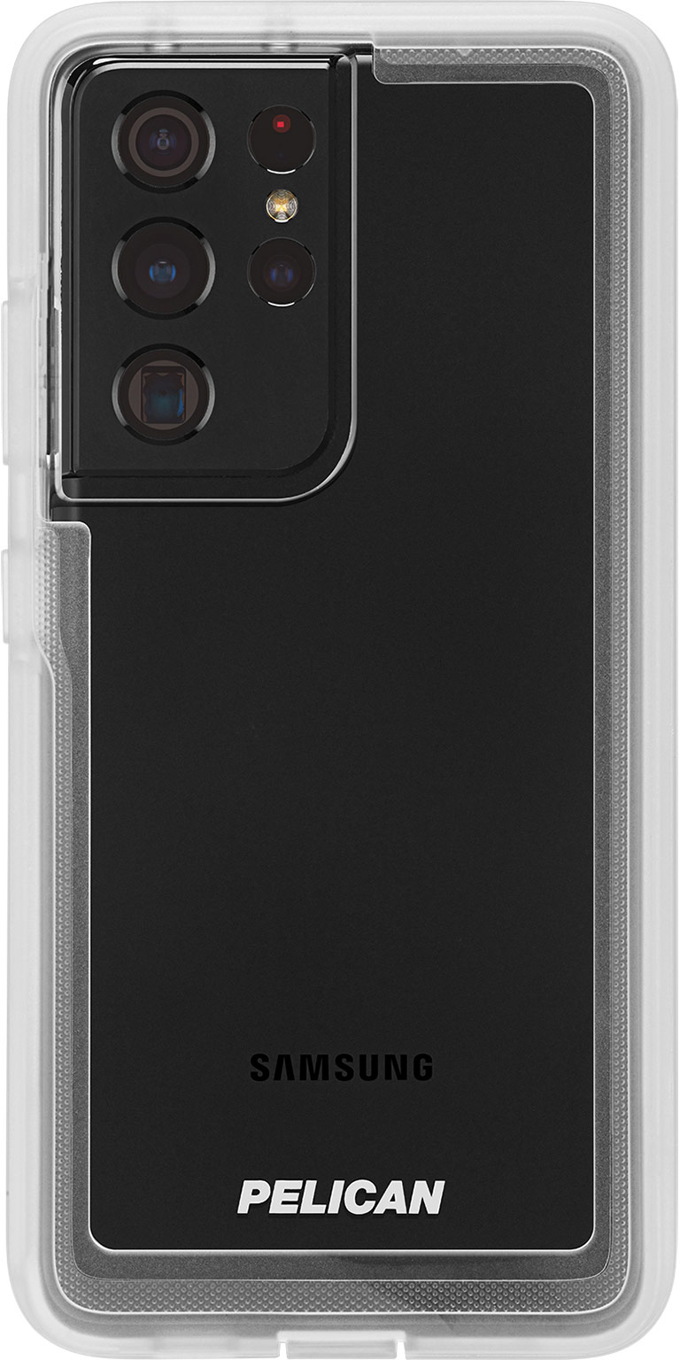 pelican pp045214 samsung galaxy s21 ultra voyager military grade phone case clear